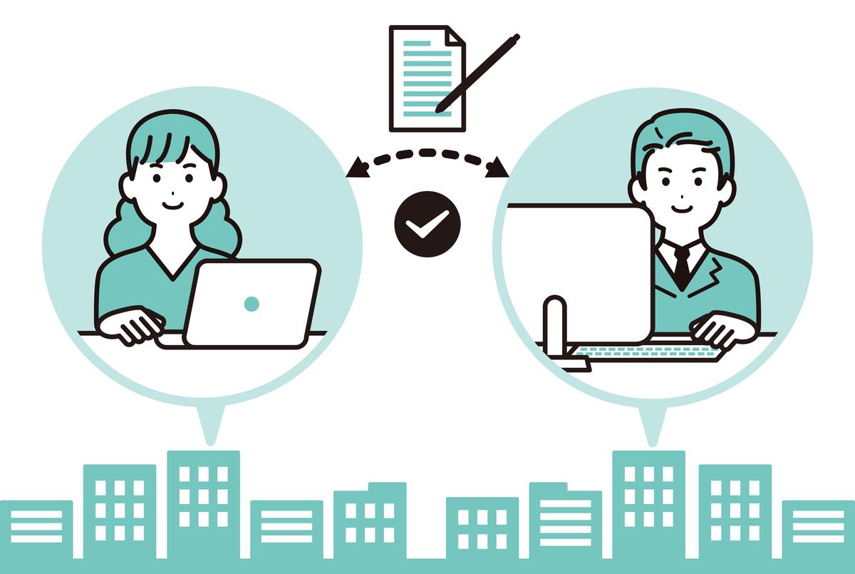 人手不足に、オフィスワークを業務委託することで対応する